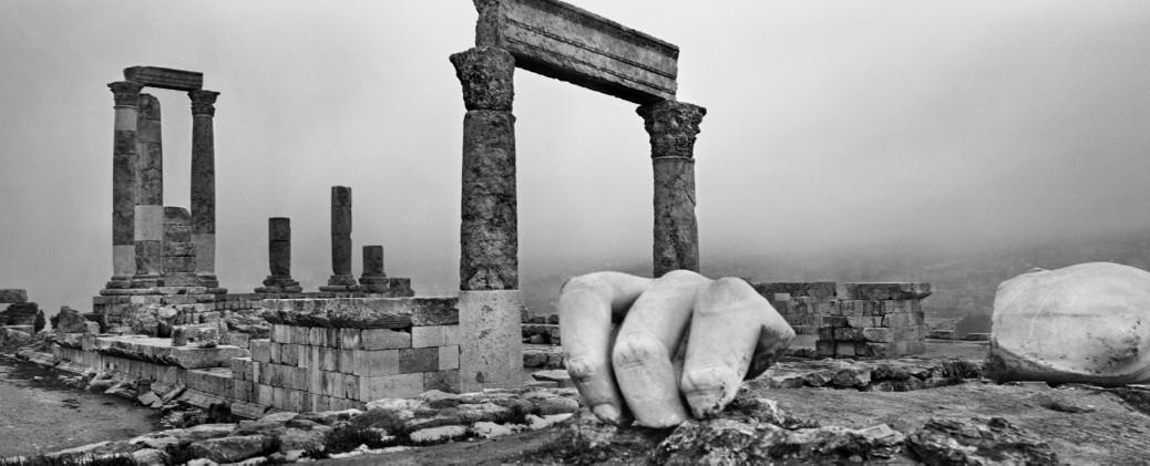 Image 4 : Jordanie (Amman), de la série Archéologie, 2012 © Josef Koudelka/Magnum Photos